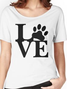 LOVE DOG PAW Women's Relaxed Fit T-Shirt