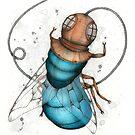 Deep Sea Fly by Kaitlin Beckett