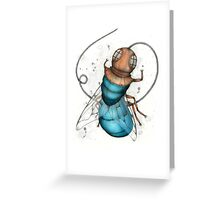 Deep Sea Fly Greeting Card