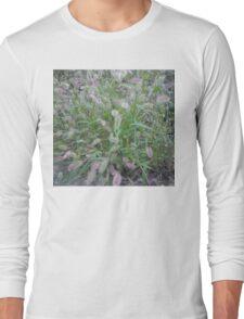 Fuzzy Long Sleeve T-Shirt