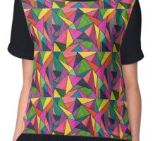 Triangles  Chiffon Top