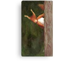 Terry the Squirrel Canvas Print