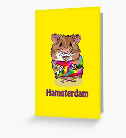 Hamsterdam Greeting Card