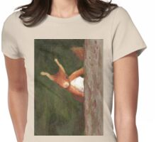 Terry the Squirrel Womens Fitted T-Shirt