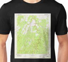 USGS TOPO Map Arizona AZ Red Knoll 313055 1970 24000 Unisex T-Shirt