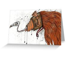 Clockwork Bird Greeting Card