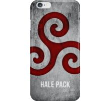 Hale Pack (Bloodless Version) iPhone Case/Skin