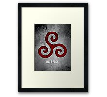Hale Pack (Bloodless Version) Framed Print
