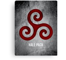 Hale Pack (Bloodless Version) Canvas Print