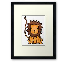 Leonard the Lion & Friends Framed Print