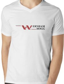 'Wernham Hogg' The Office UK inspired artwork Mens V-Neck T-Shirt
