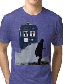 Skaro in Silhouette  Tri-blend T-Shirt
