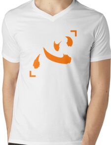 Chairman Netero Lucky Shirt Symbol Anime Manga Shirt Mens V-Neck T-Shirt
