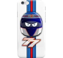 VALTTERI BOTTAS_2014_HELMET_v2 iPhone Case/Skin