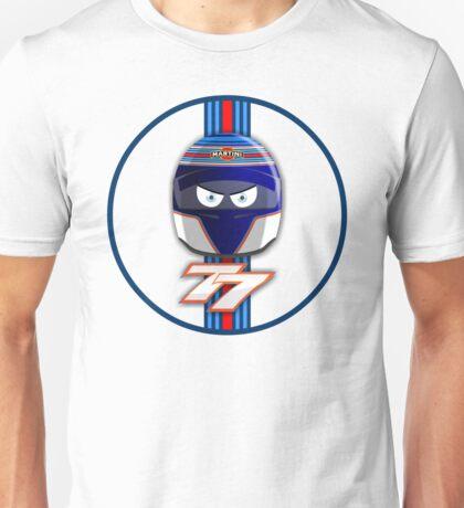 VALTTERI BOTTAS_2014_HELMET_v2 Unisex T-Shirt