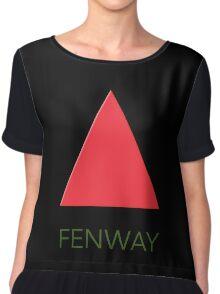 Fenway Park - Red Sox Chiffon Top