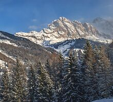 Winter Dolomites by MartinCapek