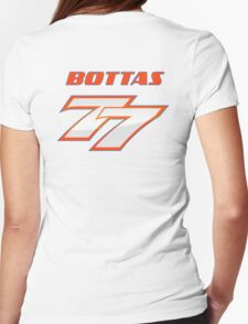 VALTTERI BOTTAS_#77_2014_HELMET Womens Fitted T-Shirt