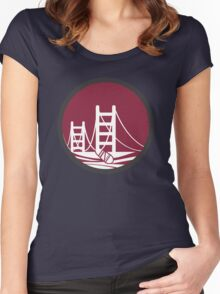 SAN FRANCISCO BLADES Women's Fitted Scoop T-Shirt