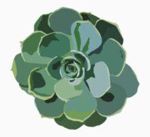 Succulent  One Piece - Short Sleeve