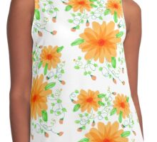 Orange Orange Juice Contrast Tank