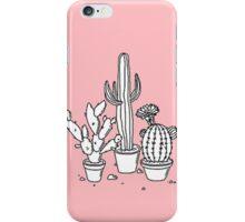 Pink Cacti iPhone Case/Skin