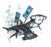 Katana Sharks Photographic Print