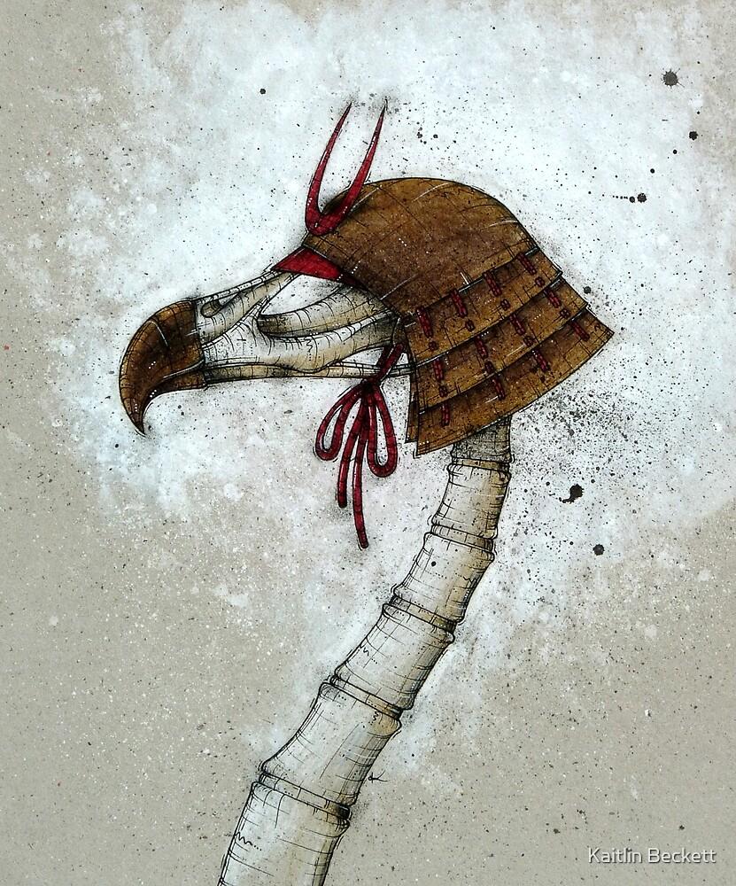 Samurai Bird by Kaitlin Beckett