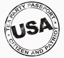 Tea Party Passport T-Shirt