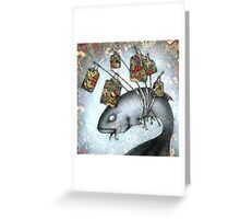 Lantern Fish Greeting Card