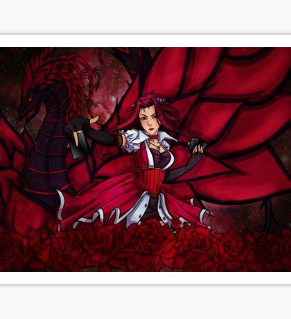 Delicate Rose Sticker