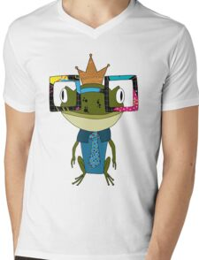 Sometimes Prince Charming is totally a Geek  Mens V-Neck T-Shirt