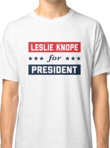 Leslie Knope For President 2016 Classic T-Shirt