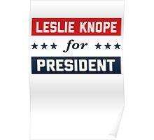 Leslie Knope For President 2016 Poster