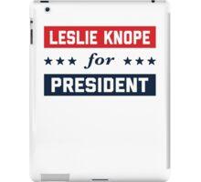 Leslie Knope For President 2016 iPad Case/Skin