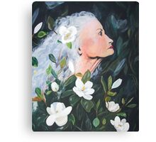 Bold Magnolia  Canvas Print