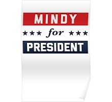 Mindy For President Poster