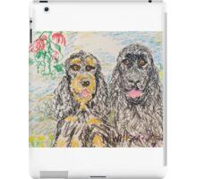 Two Cockers iPad Case/Skin