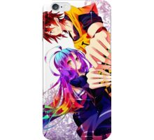 SORA AND SHIRO - NGNL iPhone Case/Skin
