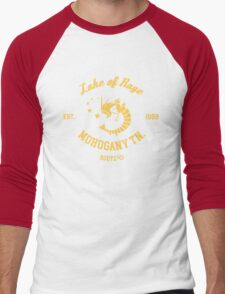Lake of Rage - Red Gyarados Men's Baseball ¾ T-Shirt