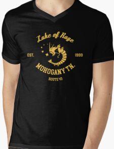 Lake of Rage - Red Gyarados Mens V-Neck T-Shirt
