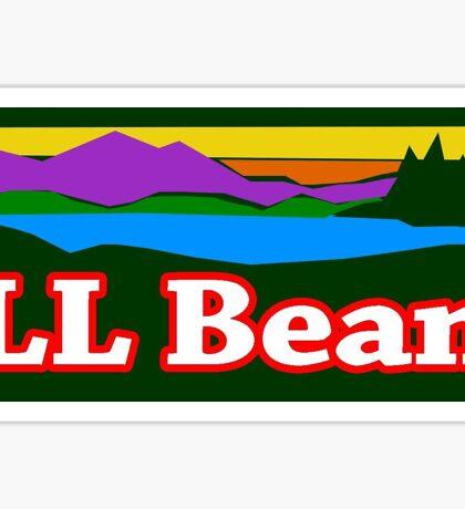 LL Bean Logo Sticker