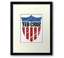 Ted Cruz Patriot Shield Framed Print