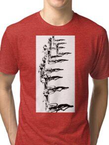 Cycling Shadows Tri-blend T-Shirt