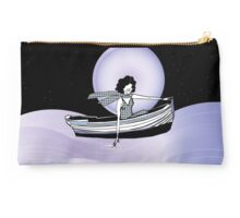 Midnight Moonlit Sail  Studio Pouch
