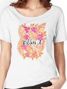 Killin' It – Melon Ombré Women's Relaxed Fit T-Shirt