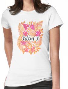 Killin' It – Melon Ombré Womens Fitted T-Shirt