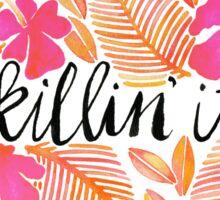 Killin' It – Melon Ombré Sticker