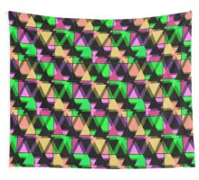Seamless triangle pattern geometric abstract Wall Tapestry