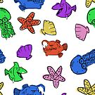 Colourful Seafood Yum Yum by Tanya  Beeson